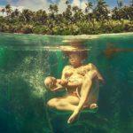 Fantastiska vattenfödsel